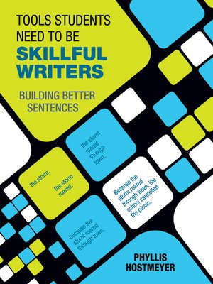 cover image of Tools Students Need to Be Skillful Writers