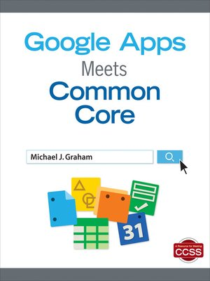 cover image of Google Apps Meets Common Core