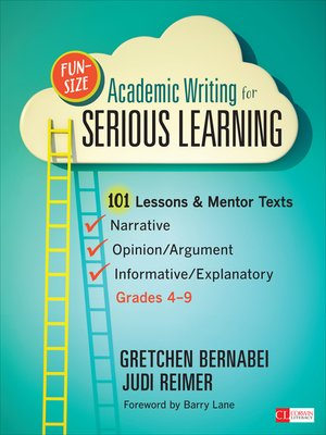 cover image of Fun-Size Academic Writing for Serious Learning