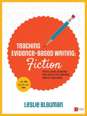 cover image of Teaching Evidence-Based Writing