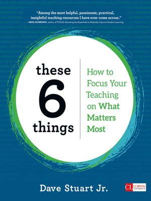 cover image of These 6 Things