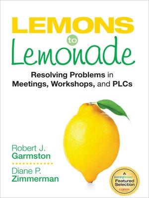 cover image of Lemons to Lemonade