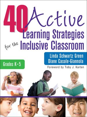 cover image of 40 Active Learning Strategies for the Inclusive Classroom