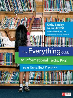 cover image of The Everything Guide to Informational Texts, K-2