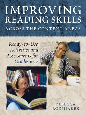 cover image of Improving Reading Skills Across the Content Areas