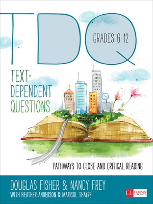 cover image of Text-Dependent Questions, Grades 6-12