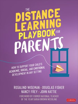 cover image of The Distance Learning Playbook for Parents