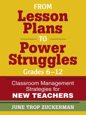 cover image of From Lesson Plans to Power Struggles, Grades 6-12