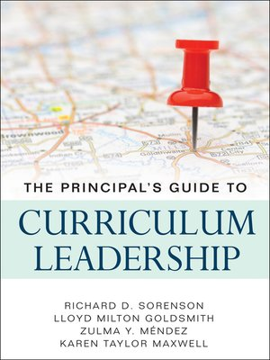 cover image of The Principal's Guide to Curriculum Leadership
