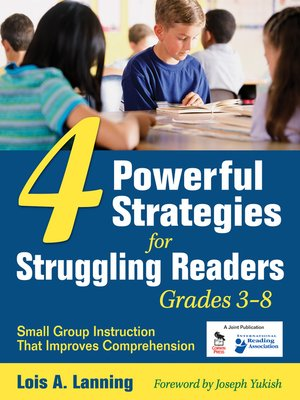 cover image of Four Powerful Strategies for Struggling Readers, Grades 3-8
