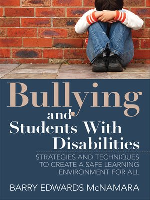 cover image of Bullying and Students With Disabilities