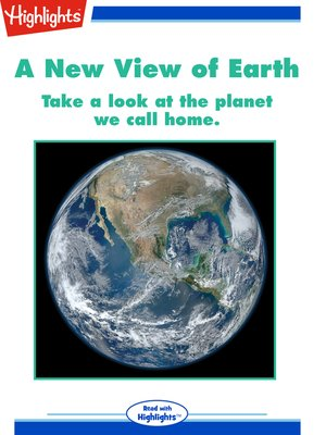 cover image of A New View of Earth