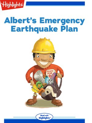 cover image of Albert's Emergency Earthquake Plan
