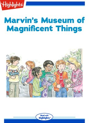 cover image of Marvin's Museum of Magnificent Things