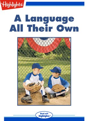 cover image of A Language All Their Own