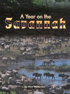 cover image of A Year on the Savannah
