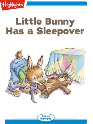 cover image of Little Bunny Has a Sleepover