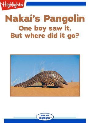cover image of Nakai's Pangolin