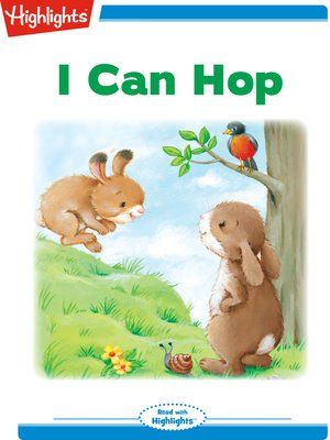 cover image of I Can Hop