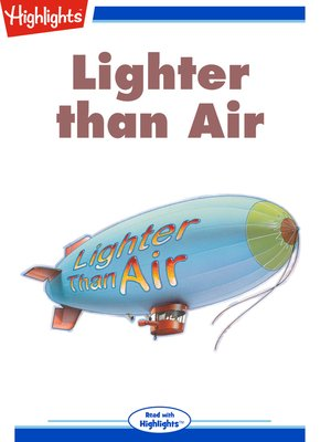 cover image of Lighter Than Air