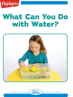 cover image of What Can You Do with Water?