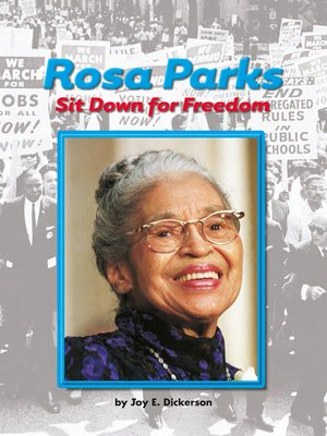 cover image of Rosa Parks: Sit Down for Freedom