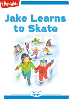 cover image of Jake Learns to Skate