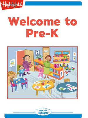 cover image of Welcome to Pre-K
