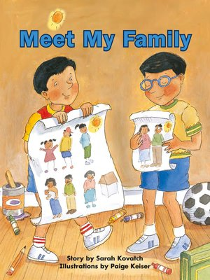 cover image of Meet My Family