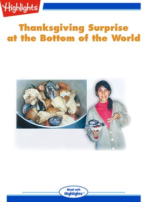 cover image of Thanksgiving Surprise at the Bottom of the World