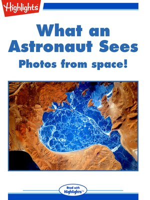 cover image of What an Astronaut Sees