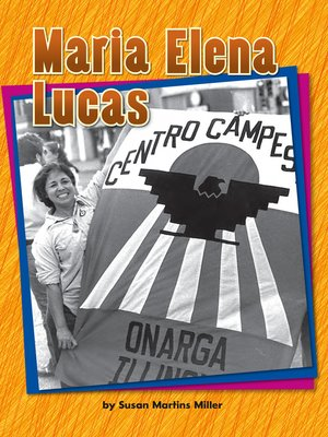 cover image of Maria Elena Lucas