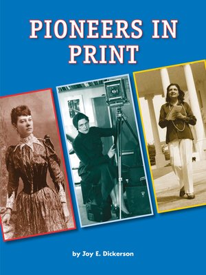 cover image of Pioneers in Print