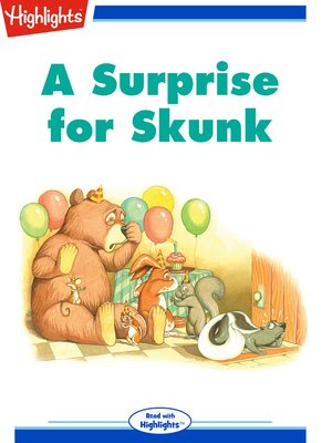 cover image of A Surprise for Skunk