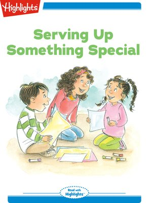 cover image of Serving Up Something Special