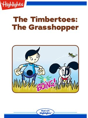 cover image of The Timbertoes: The Grasshopper