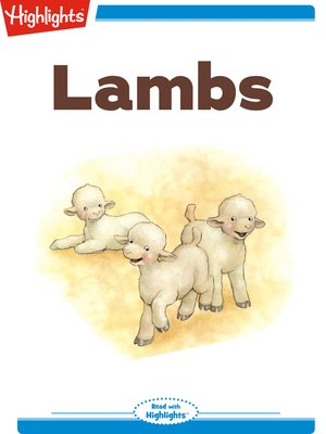 cover image of Lambs