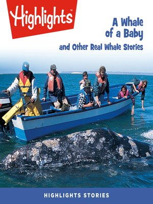 cover image of A Whale of a Baby and Other Real Whale Stories