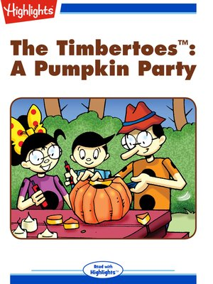 cover image of A Pumpkin Party