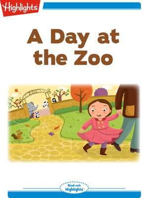 cover image of A Day at the Zoo
