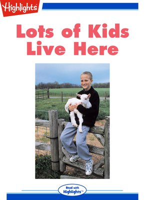 cover image of Lots of Kids Live Here