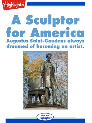 cover image of A Sculptor for America