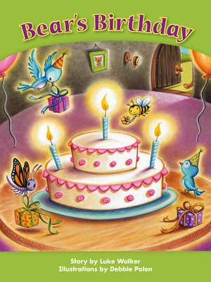 cover image of Bear's Birthday