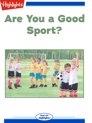 cover image of Are You a Good Sport?