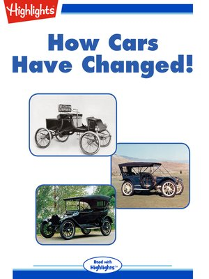 cover image of How Cars Have Changed!