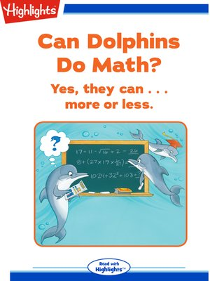 cover image of Can Dolphins Do Math?
