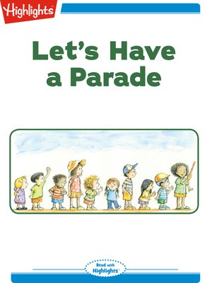cover image of Let's Have a Parade