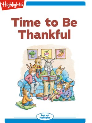 cover image of Time to be Thankful