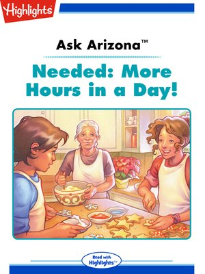 cover image of Needed: More Hours in a Day!