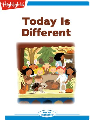 cover image of Today Is Different